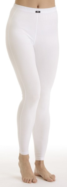 Pleas Damen Thermo Unterhose lang, weiss 101007-100