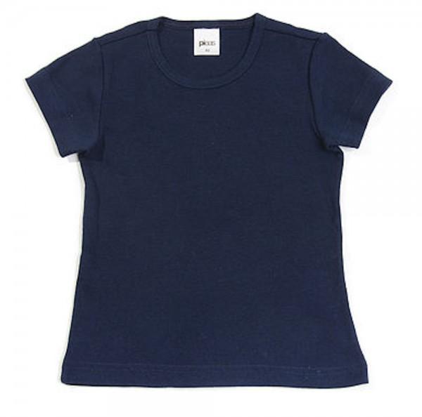 PLEAS Kinder Unterhemd 1/2 Arm - Untershirt dunkelblau 147330-804