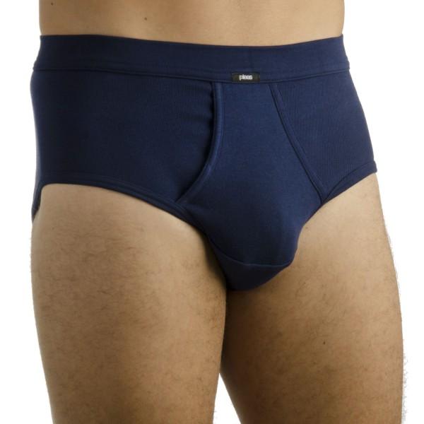 PLEAS Herren Unterhose klassisch mit Eingriff