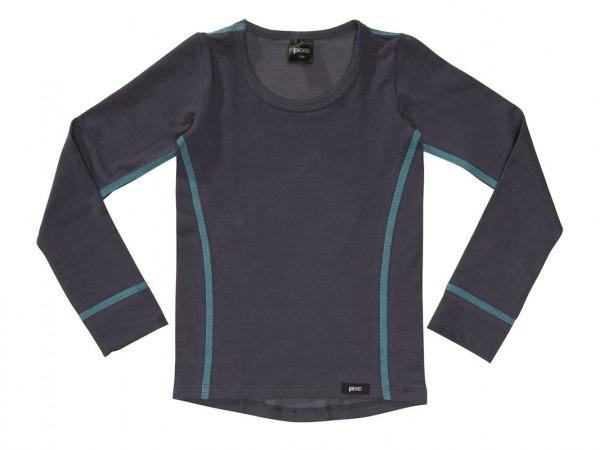 PLEAS Jungen Thermo Shirt mit langem Arm, Thermounterhemd für Jungen